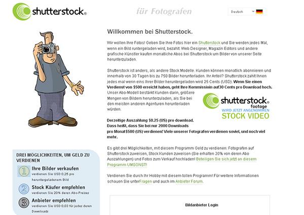 Microstock-Agentur Shutterstock
