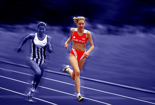 400 Meter Lauf der Frauen