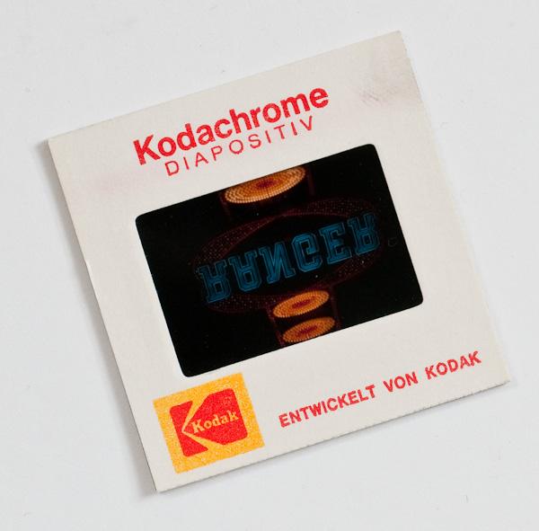 Diafilm Kodachrome