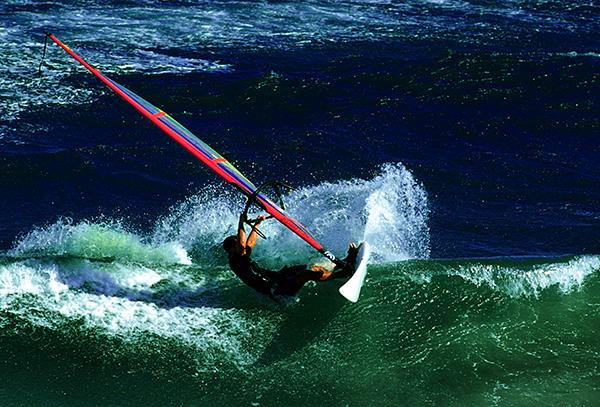 Windsurfer auf Gran Canaria