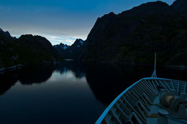 Einfahrt in den Trollfjord