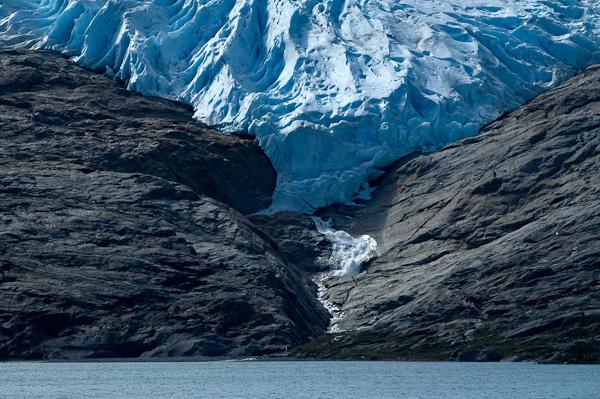 Gletscherzunge des Svartissengletscher