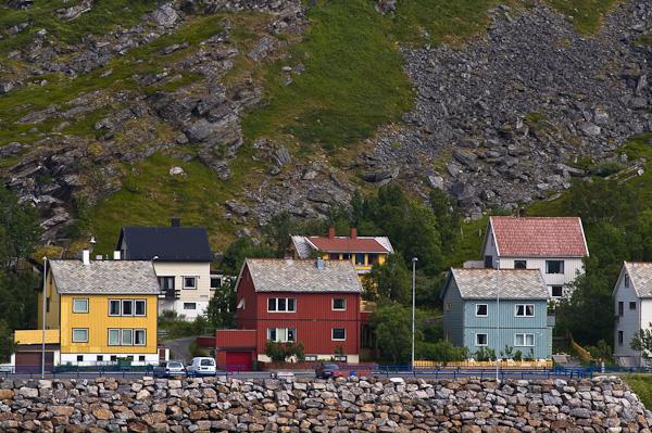 Häuser in Hammerfest