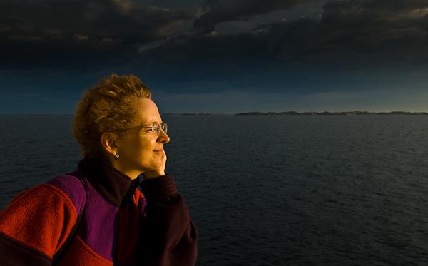 Portrait im Abendlicht