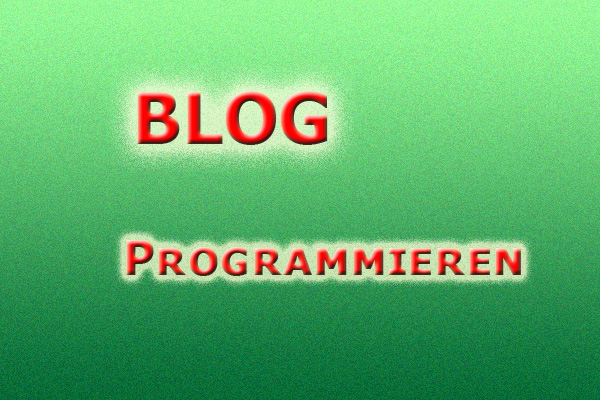 Blog programmieren