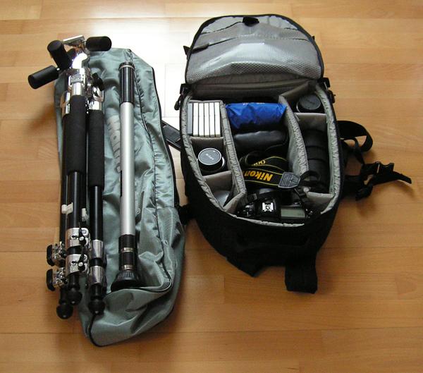 Fotoausrüstung für den Urlaub
