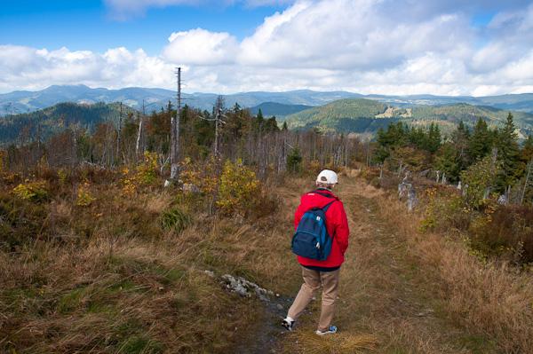 Wanderin am Blößling 1309 m