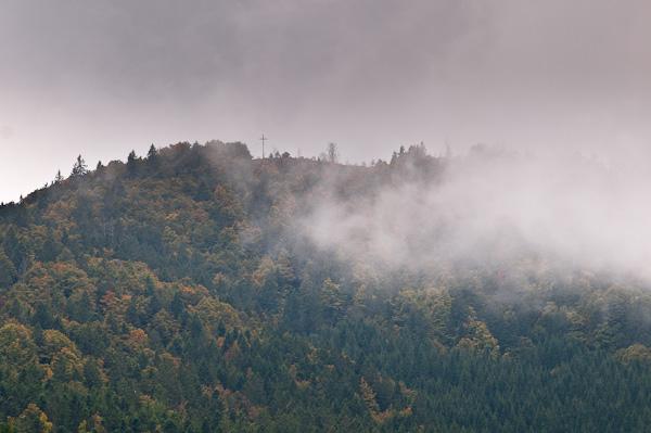 Gipfel des Blößling 1309 m