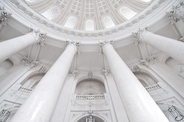 Die Rundkuppel vom Dom in Sankt Blasien