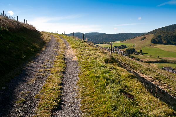 Panoramaweg bei Bernau