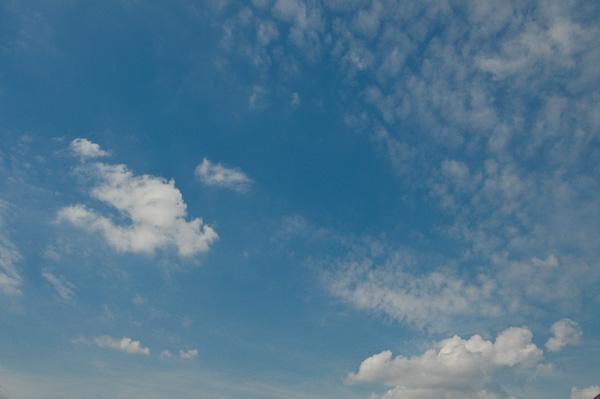 Wolkenhimmel für Zeitraffer