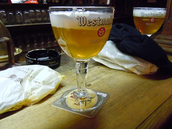 Bier aus Belgien - Westmalle Trappist