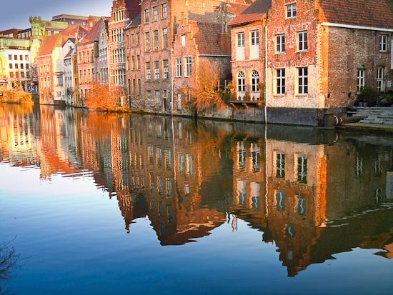 Historische Gebäude in Belgien