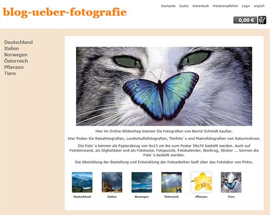 Online-Fotolabor Pictrs
