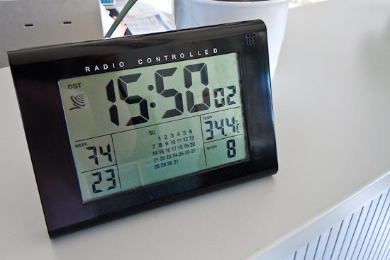 Über 34 Grad im Büro