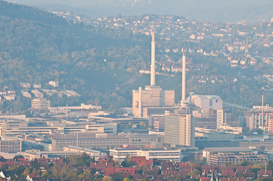 Heizkraftwerk in Altbach / Deizisau