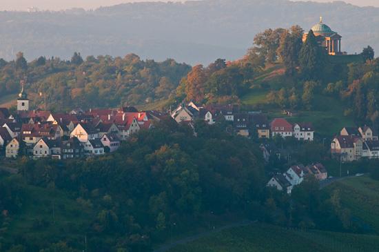 Uhlbach und Rotenberg mit Grabkapelle