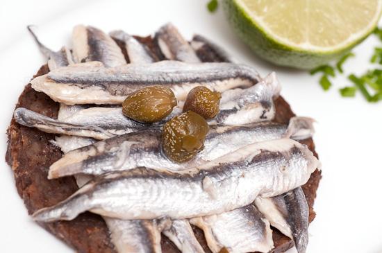 Sardinen Canape