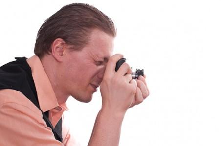 Selbstportrait Fotograf mit Leica M7