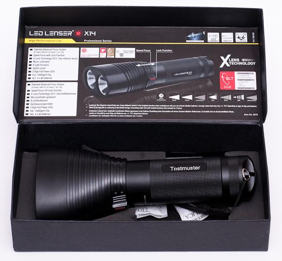 LED LENSER X14 Taschenlampe