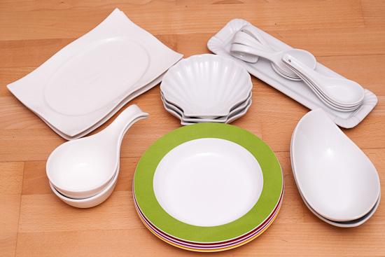 Geschirr für die Foodfotografie