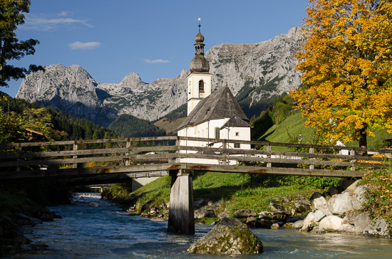 Pfarrkirche in der Ramsau