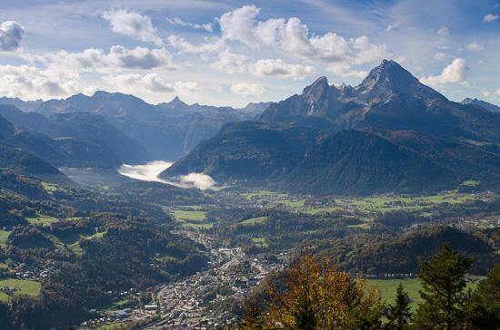 Berchtesgaden und Watzmann