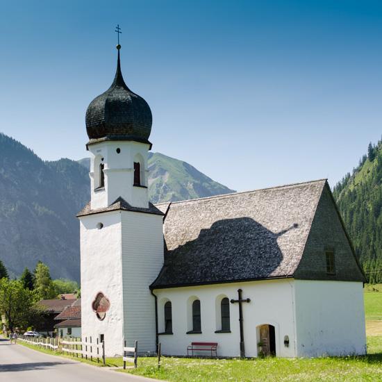 Mariahilf Kapelle bei Tannheim