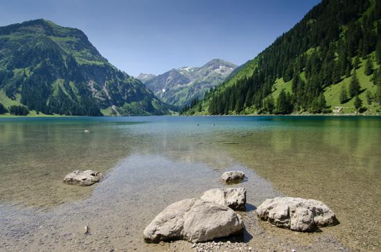 Vilsalpsee in Tirol