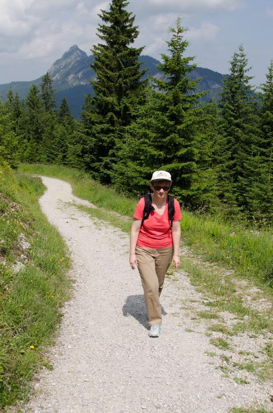 Wanderung zum Adlerhorst