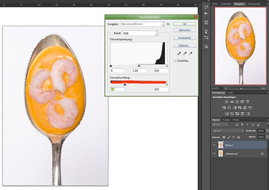 Step 3 beim Freistellen eines Objektes in Photoshop CS6