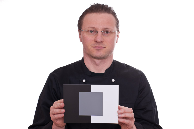 Graukarte für Portrait