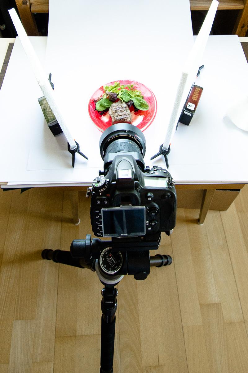 Foodfotografie mit natürlichen Licht