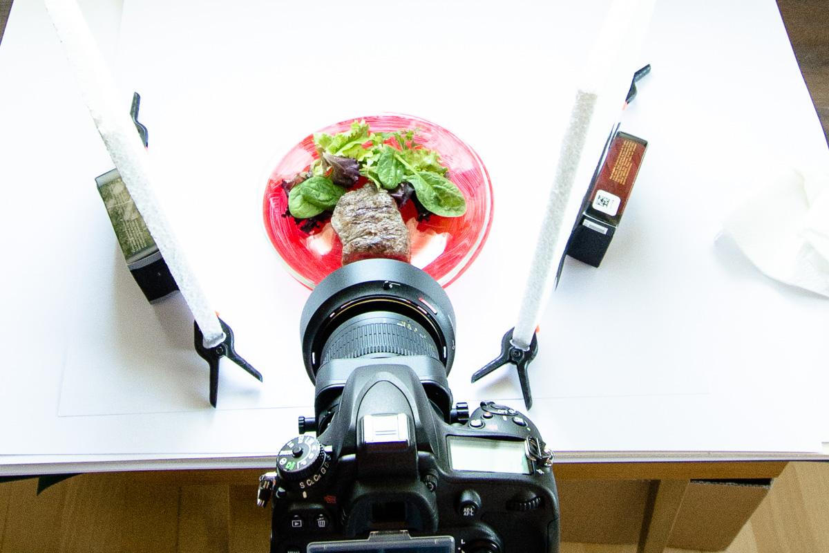 Foodfotografie bei Tageslicht
