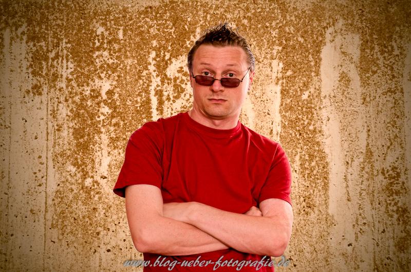 Photoshop Übung - Selbstportrait nach der Bearbeitung
