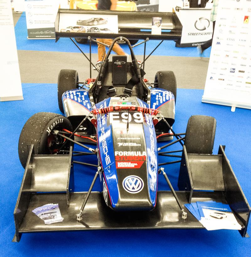 Formel Student Elektro-Rennwagen