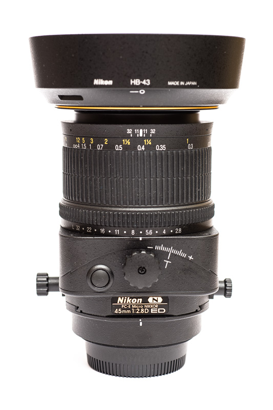 PC-E Micro-NIKKOR 45 mm 1:2,8D ED mit Tilt/Shift