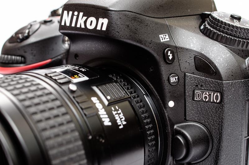Vollformat Nikon D610