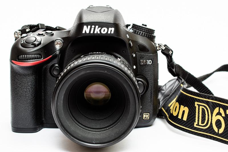 Digitale Vollformat-Kamera Nikon D610