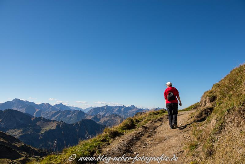 Wanderweg vom Seelpsee zum Zeigersattel