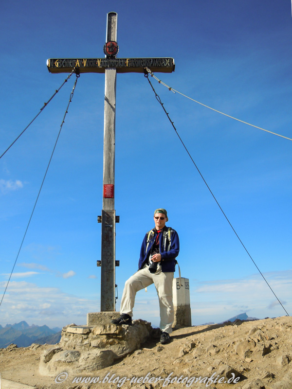 Gipfelfoto am Fellhorn