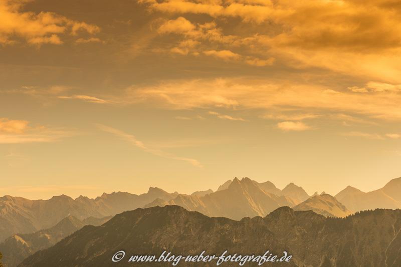 Gebirge im Allgäu