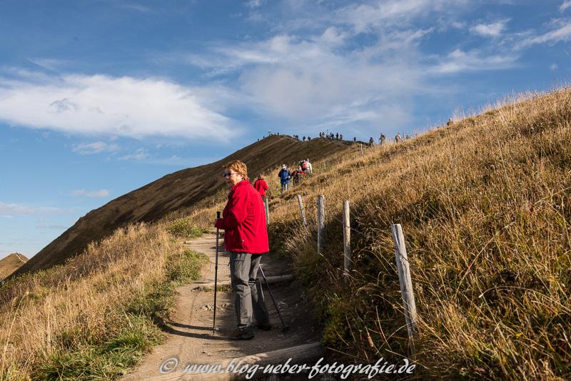 Aufstieg zum Fellhorn