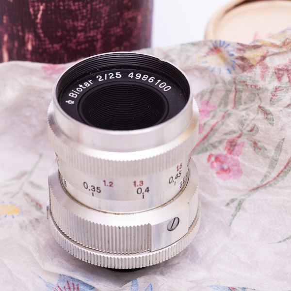 Carl Zeiss Jena Biotar 2/25 mm Objektiv