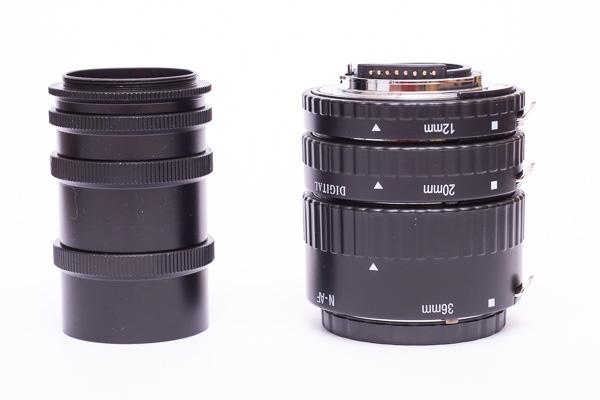 M42 + Nikon F Zwischenringe
