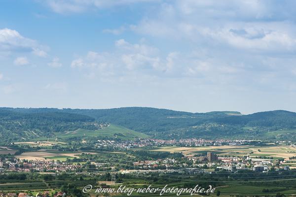 Ausblick auf Weinstadt