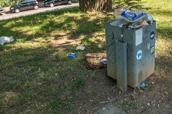 Müll am Bopser