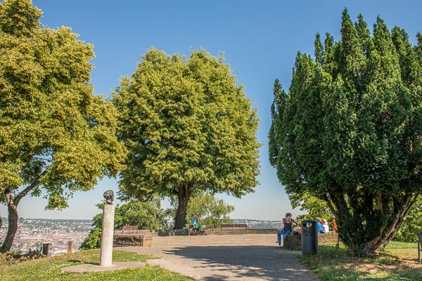 Aussichtspunkt im Weißenburgpark