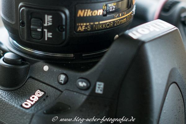 Nikkor AF-S 20mm 1:1,8