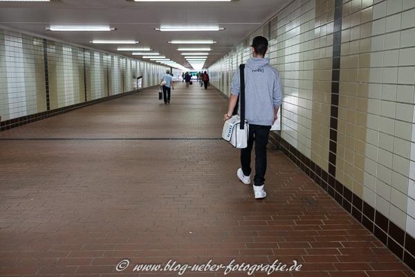Unterführung am Bahnhof Stuttgart-Vaihingen